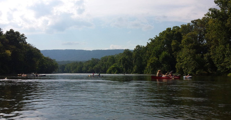 fun on the Shenandoah River
